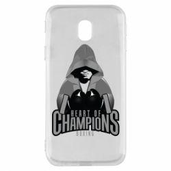 Чехол для Samsung J3 2017 Heart of Champions