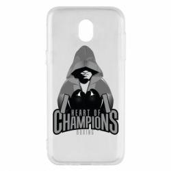 Чехол для Samsung J5 2017 Heart of Champions