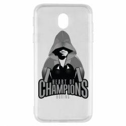 Чехол для Samsung J7 2017 Heart of Champions