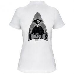 Женская футболка поло Heart of Champions