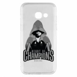 Чехол для Samsung A3 2017 Heart of Champions