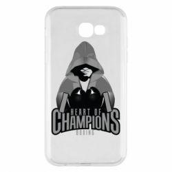 Чехол для Samsung A7 2017 Heart of Champions