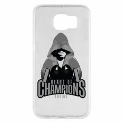 Чехол для Samsung S6 Heart of Champions