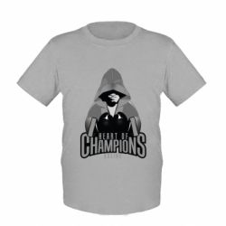 Детская футболка Heart of Champions - FatLine
