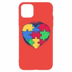 Чохол для iPhone 11 Pro Max Heart puzzle