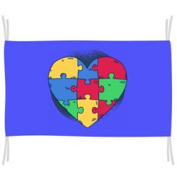 Прапор Heart puzzle