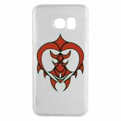 Чехол для Samsung S6 EDGE Heart warrior