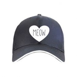 Кепка Heart and meow