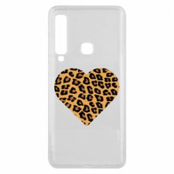 Чехол для Samsung A9 2018 Heart with leopard hair
