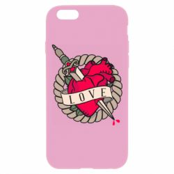 Чехол для iPhone 6 Plus/6S Plus Heart with sword