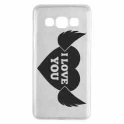 Чохол для Samsung A3 2015 Heart with wings