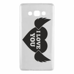Чохол для Samsung A7 2015 Heart with wings