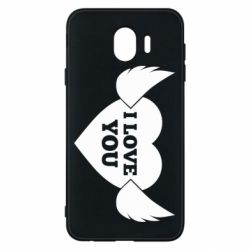 Чохол для Samsung J4 Heart with wings
