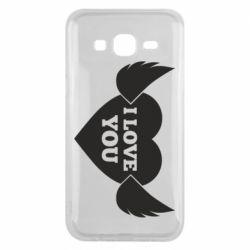 Чохол для Samsung J5 2015 Heart with wings