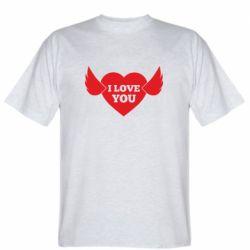 Чоловіча футболка Heart with wings