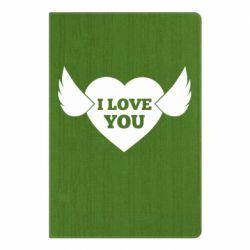 Блокнот А5 Heart with wings