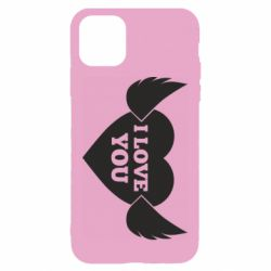 Чохол для iPhone 11 Heart with wings