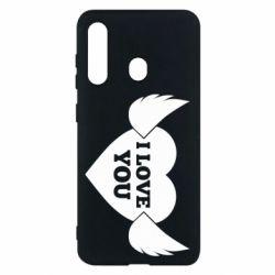 Чохол для Samsung M40 Heart with wings