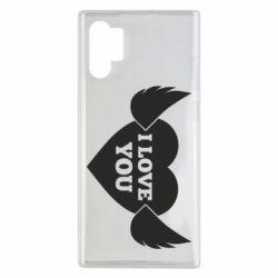 Чохол для Samsung Note 10 Plus Heart with wings
