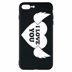 Чохол для iPhone 7 Plus Heart with wings
