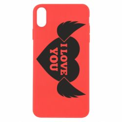Чохол для iPhone X/Xs Heart with wings