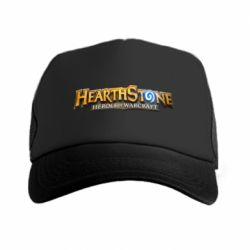 Кепка-тракер Hearthstone logotip