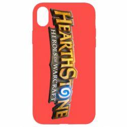 Чохол для iPhone XR Hearthstone logotip