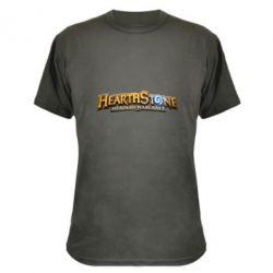 Камуфляжна футболка Hearthstone logotip