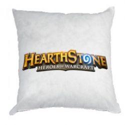 Подушка Hearthstone logotip