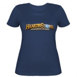 Жіноча футболка Hearthstone logotip