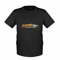 Дитяча футболка Hearthstone logotip