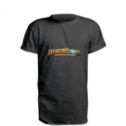 Подовжена футболка Hearthstone logotip
