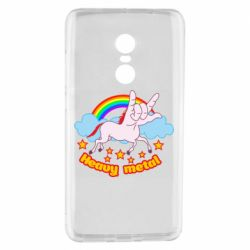 Чехол для Xiaomi Redmi Note 4 Heavy metal unicorn