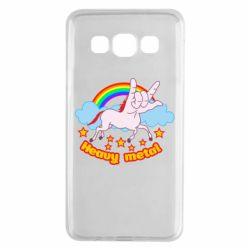 Чехол для Samsung A3 2015 Heavy metal unicorn