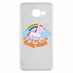 Чохол для Samsung A3 2016 Heavy metal unicorn