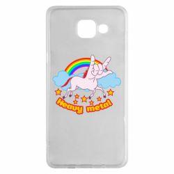 Чохол для Samsung A5 2016 Heavy metal unicorn