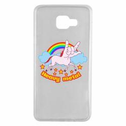Чохол для Samsung A7 2016 Heavy metal unicorn