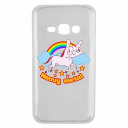Чохол для Samsung J1 2016 Heavy metal unicorn