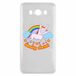 Чохол для Samsung J7 2016 Heavy metal unicorn