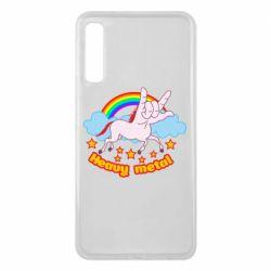 Чохол для Samsung A7 2018 Heavy metal unicorn