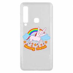 Чохол для Samsung A9 2018 Heavy metal unicorn
