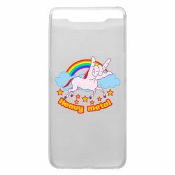 Чохол для Samsung A80 Heavy metal unicorn