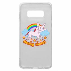 Чохол для Samsung S10e Heavy metal unicorn