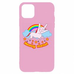 Чехол для iPhone 11 Pro Heavy metal unicorn