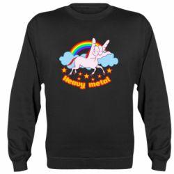 Реглан (світшот) Heavy metal unicorn
