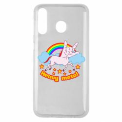 Чохол для Samsung M30 Heavy metal unicorn