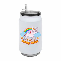 Термобанка 350ml Heavy metal unicorn