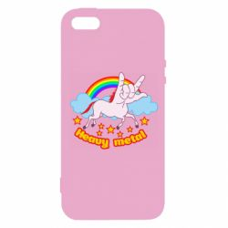 Чехол для iPhone5/5S/SE Heavy metal unicorn