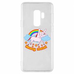Чохол для Samsung S9+ Heavy metal unicorn
