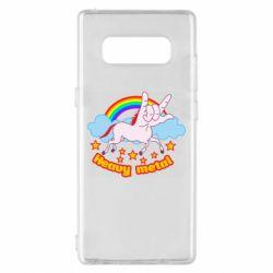 Чохол для Samsung Note 8 Heavy metal unicorn